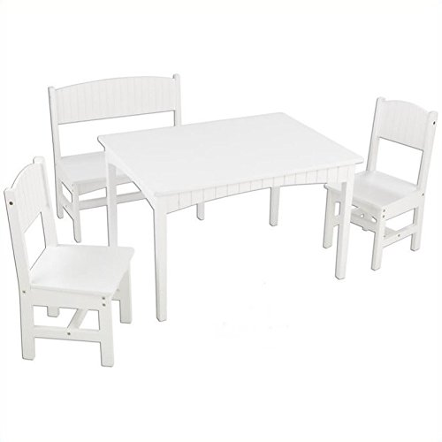 Kidkraft Nantucket Table With Bench And Chairs Mookeq