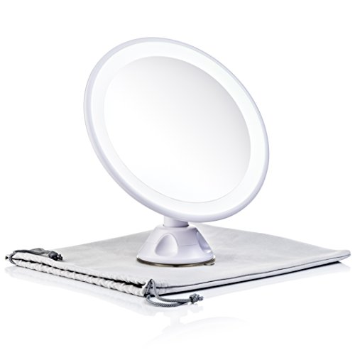 Keen Edge Home Magnifying Mirror With Light Daylight Led